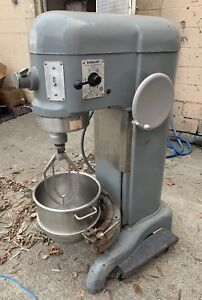 Hobart H600 60 Quart Dough Mixer With 30 Quart Bowl Paddle Adapter 3ph
