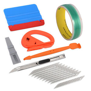 5m Knifeless Tape Finish Line Felt Squeegee Graphic Stickers Vinyl Wrap Tools