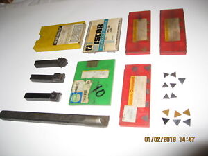 Lathe Turning Tools Lot