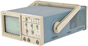 Tektronix Tds 350 Portable Benchtop 2 channel 200mhz 1gs s Oscilloscope