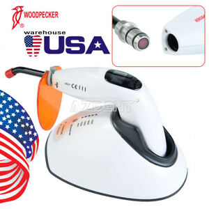 Woodpecker Dental Curing Light Wireless Teeth Whitening Accelerator Tester Led f