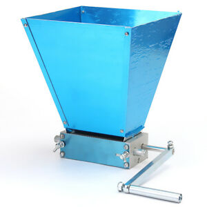 Grain Processor Grain Crusher Stainless Rollers Home Brew Malt Mill Grain Mill