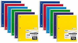 Mead Spiral Notebook College Ruled 1 Subject 24 pack 24 Pack