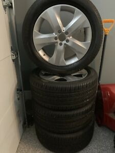 Brand New Oem Mercedes Benz Ml 350 Tires And Wheels 19 Set Of 4 2009 2011