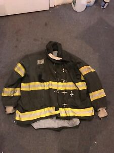 Morning Pride Gear Bunker Jacket Turnout Jacket Fdny Style Size 52