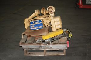 Acco Wright way 1 Ton Electric Hoist 2214601 230 460