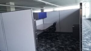 Six Gently Used Herman Miller Office Cubicles For Sale Pick Up Only