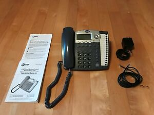 At t 984 4 Line Small Business Phone System With Digital Answering Machine