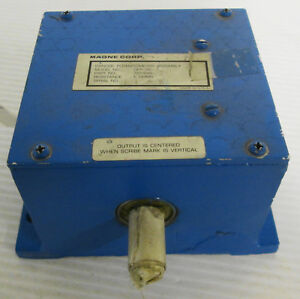 Magne Corp Dfp76 1 Dancer Potentiometer Assembly