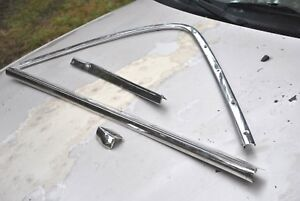 67 Galaxie Convertible Rear Boot Moldings Good Quality 4 Peice Set