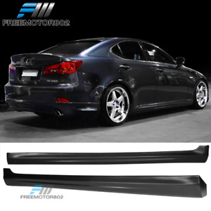 Fits 2006 2013 Lexus Is250 Is350 In S Style Pp Side Skirts Extensions Pair