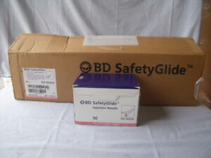 Bd Safetyglide Injection Needle 305918 18g X 1 1 2 500 Quantity J5