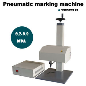 Pneumatic Marking Machine Nameplate Sign Metal Marking Machine Tagging Machine