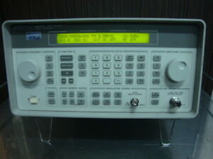 Hp 8648c Synthesized Rf Signal Generator 100khz 3200mhz