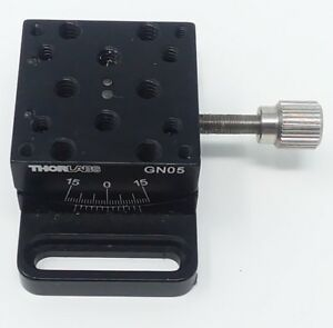Small Goniometer Thorlabs Gn05