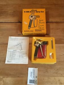 Wagner G 09n Airless Spray Gun W Box Manual New Old Stock