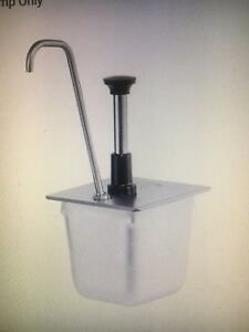 Server Model Number 83433 Stainless Syrup Condiment 1 Oz Pump Dispenser