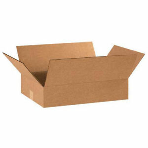 20 x12 x4 Flat Corrugated Boxes 25 Pack Lot Of 25