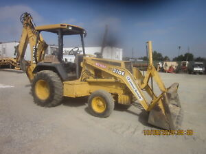 1999 John Deere 310e Loader Backhoe