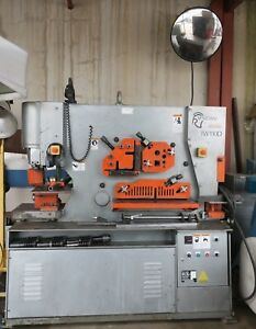 Marvel Spartan Ironworker 110 Ton 10 Hp 12in Throat iw 110d