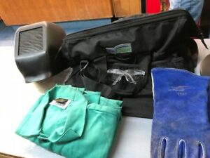 Prostar Welding Helmet Equipment Bag gloves Tillman 2x Jacket Free Shipping