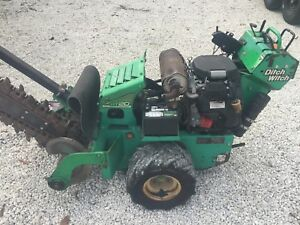 Ditch Witch Rt20 Walk Behind Hydraulic Trencher
