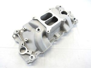 1957 1995 Small Block Chevy 350 1500 6500rpm Intake Manifold Satin Bpe 4008