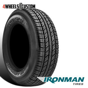 1 X New Ironman Rb Suv 255 70 17 112t All Season Traction Tire