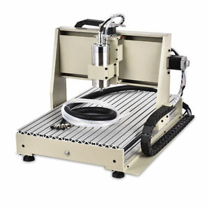 Cnc Router Engraver Machine Metalworking Engraving Drilling 3 Axis 6040 Usb Hot