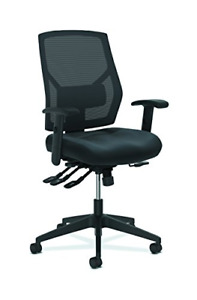 Hon Crio High back Task Chair Leather Mesh Back Computer Chair With Control