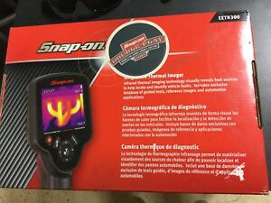 Snap On Tools Eeth300 Auto Diagnostic Thermal Imager Scanner Complete In Box
