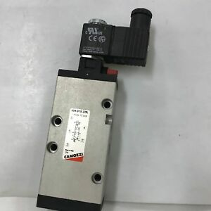 Camozzi 454 015 22il 5 2 way Pneumatic Directional Control Valve G1 4 24v 50 Hz