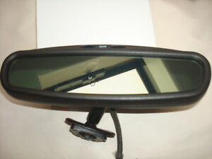 96 00 Chrysler Sebring Convertible Auto Dim Rear View Mirror Rearview