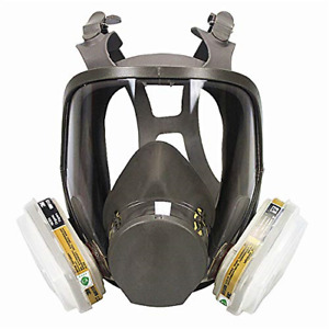 Mufly Full Face Respirator For Organic Vapor protection Gas Masks Paint Chemical