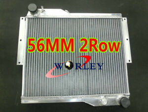 Aluminum Radiator For Rover Mg Mgb Gt V8 Coupe Mt 1973 1976 3 3l 3 5l 3258 3528