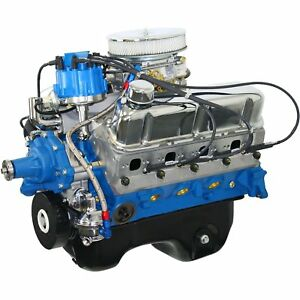 Blueprint Engines Bp3060ctcd Small Block Ford 306ci Drop In Dress Engine 600cfm