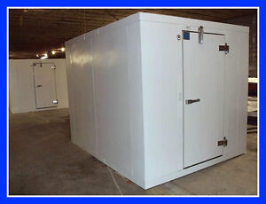 10 x10 x7 10 New Foster Walk In Cooler With Refrigeration no Floor