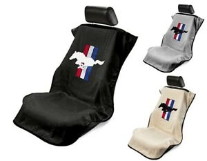 Seat Armour Universal Car Seat Cover Mustang Pony Logo