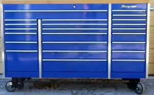 Snap on Tool Storage Box Krl1023bpcm Royal Blue Excellent Condition