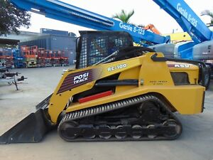Asv rc100 Posi track By Cat high Flow 2 Speed A c Cab Hyd Coupler 105 Hp