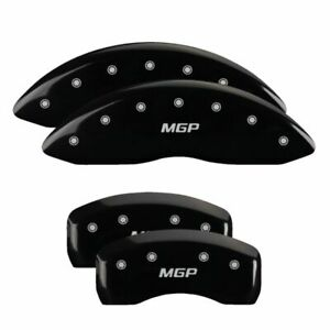 Brake Mgp Caliper Cover Front Rear Black Paint Wheels For Bmw 528i 2004 2010