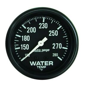 Auto Meter 2313 2 5 8 Auto Gage Mechanical Water Temp Gauge 100 280 Degree