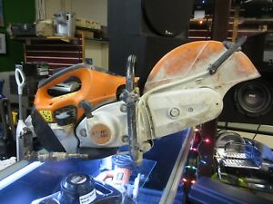 Stihl Ts420 Gas Powered 14 Concrete Cut Off Saw Works Great