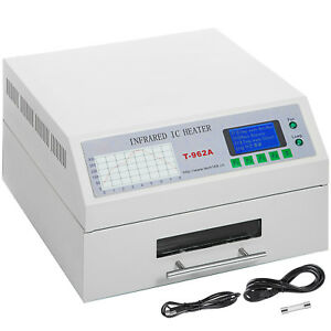 T962a Reflow Oven 300x320mm Infrared Ic Heater Micro processor Rework Station