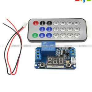 12v Timer Delay Relay Infrared Remote Control Led Tube Display Module Arduino