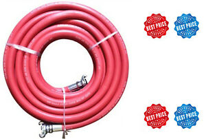 Jgb Eagle Red Jackhammer Rubber Air Hose 3 4 Universal chicago Couplings Usa