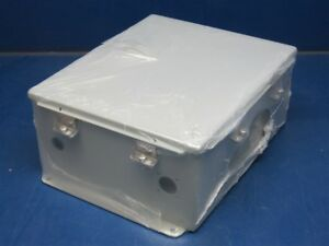 Hoffman A1210chnf 12 X 10 Metal Junction Box Enclosure Factory Sealed
