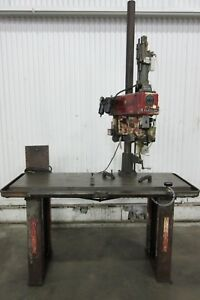 Clausing Drill tapping Head On Work Bench Used Am15868