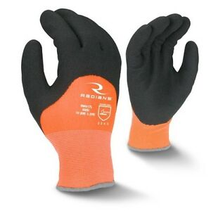 Radians Rwg17 Cold Weather Latex Coated Gloves 12 Pair Pack