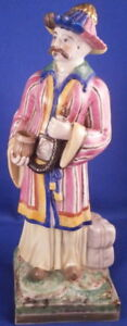 Antique Niderviller Porcelain Figural Incense Burner Figurine Figure French 1